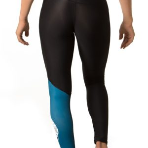 Leggings Icarus Nero/Blu